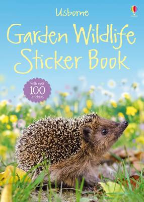 Garden Wildlife Sticker Book by Philip Clarke