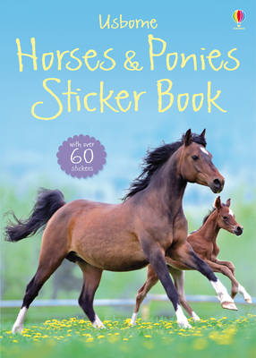 Horses and Ponies Sticker Book by Joanna Spector