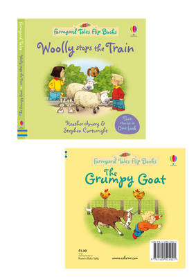 Woolly Stops the Train/The Grumpy Goat by Heather Amery