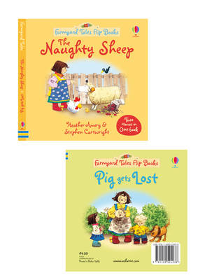 The Naughty Sheep/Pig Gets Lost by Heather Amery