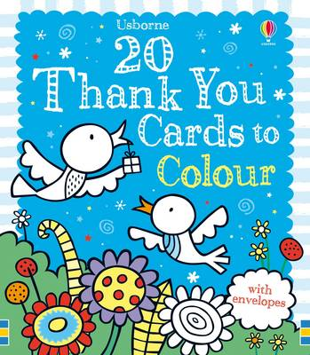 Twenty Thank You Cards to Colour by Candice Whatmore