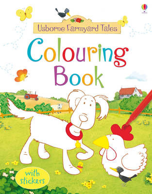 Farmyard Tales Colouring Book by