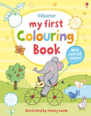 My First Colouring Book by Stacey Lamb