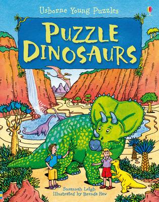 Puzzle Dinosaurs by Susannah Leigh