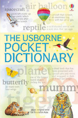 The Usborne Pocket Dictionary by Rachel Wardley