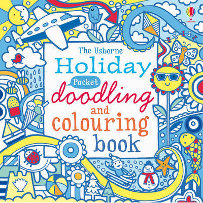 The Usborne Holiday Pocket Doodling and Colouring Book by