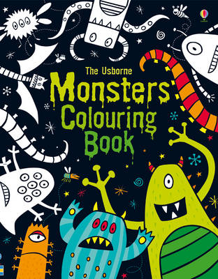Monsters Colouring Book by Kirsteen Rogers