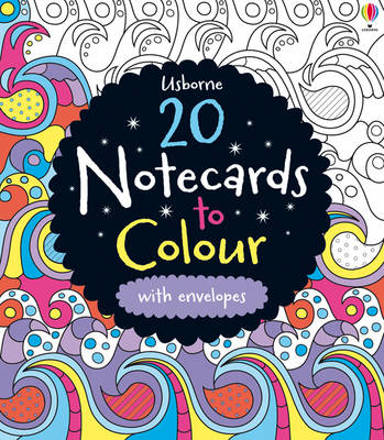 20 Notecards to Colour by Candice Whatmore