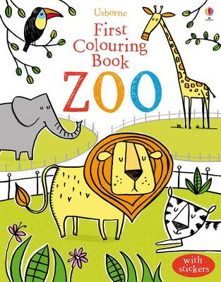 First Colouring Book Zoo by Jessica Greenwell