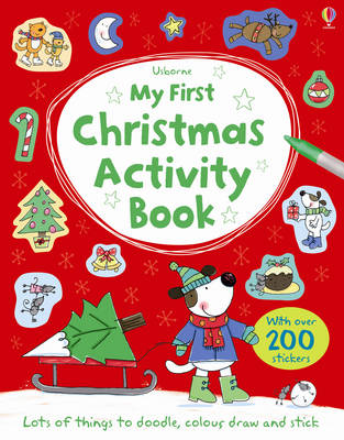 My First Christmas Activity Book by Sam Taplin