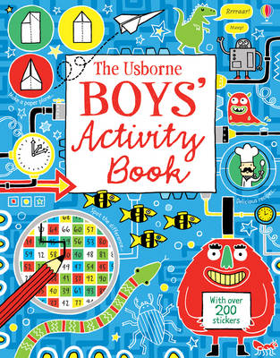 Boy's Activity Book by Various
