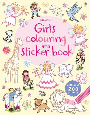 Girls' Colouring and Sticker Book by Jessica Greenwell