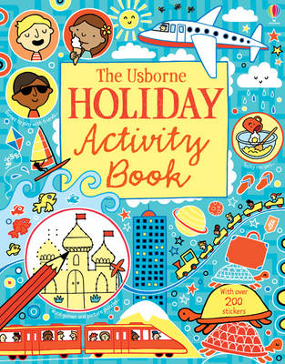 Holiday Activity Book by Rebecca Gilpin, James MacLaine, Lucy Bowman