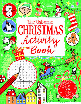 Christmas Activity Book by Rebecca Gilpin, James MacLaine, Lucy Bowman
