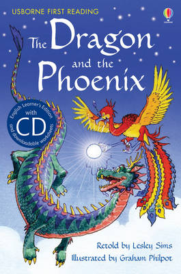 The Dragon and the Phoenix [Book with CD] by Lesley Sims