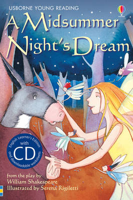 A Midsummer Night's Dream [Book with CD] by Lesley Sims