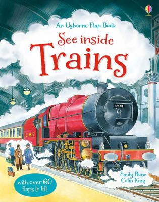 See Inside Trains by Emily Bone