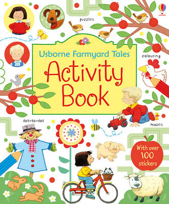 Farmyard Tales Activity Book by Rebecca Gilpin