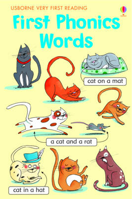 First Phonics Words by Mairi Mackinnon