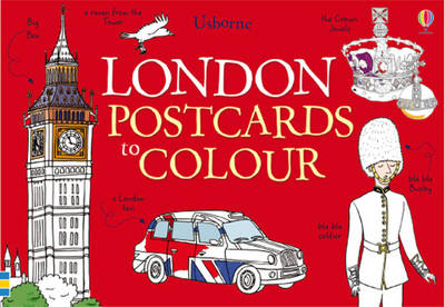 London Postcards to Colour by Struan Reid