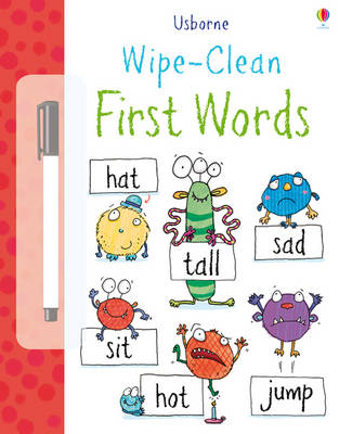 Wipe Clean: First Words by Jessica Greenwell