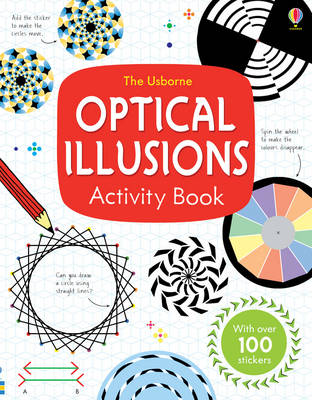 Optical Illusions Activity Book by Sam Taplin
