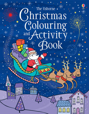 Christmas Colouring and Activity Book by Kirsteen Rogers
