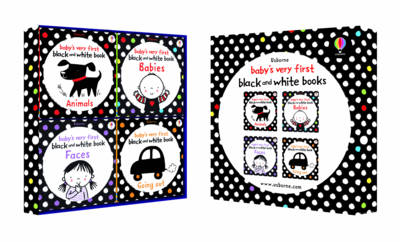 Baby's Very First Black and White Four-book Gift Box by Stella Baggott
