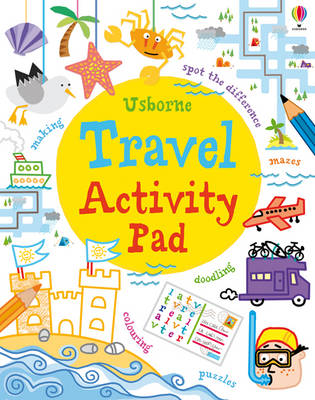 Travel Activity Pad by Simon Tudhope