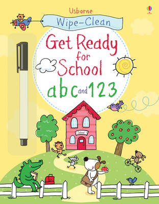 Wipe-clean Get Ready for School ABC and 123 by Sam Taplin