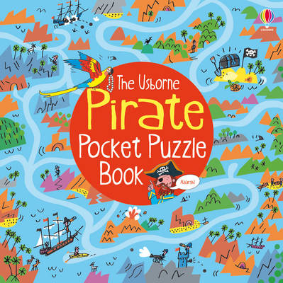 Pirate Pocket Puzzle Book by Alex Frith