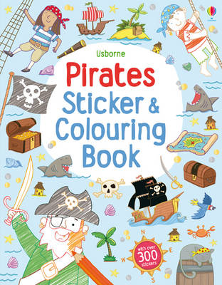 Pirates Sticker and Colouring Book by Sam Taplin