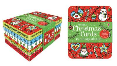 Christmas Cards Tin by Candice Whatmore