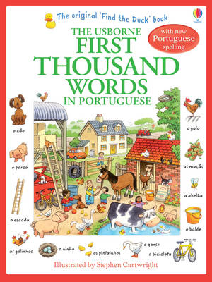 First Thousand Words in Portugese by Heather Amery