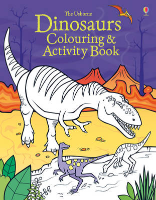 Dinosaur Colouring and Activity Book by Kirsteen Robson