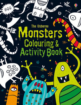 Monsters Colouring and Activity Book by Kirsteen Robson