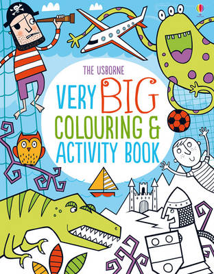 Very Big Colouring and Activity Book by Kirsteen Robson