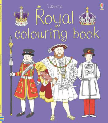 Royal Colouring Book by