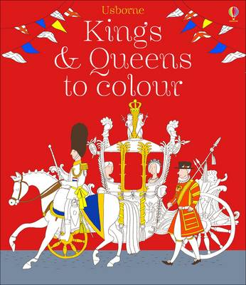 Kings and Queens Colouring Book by Ruth Brocklehurst