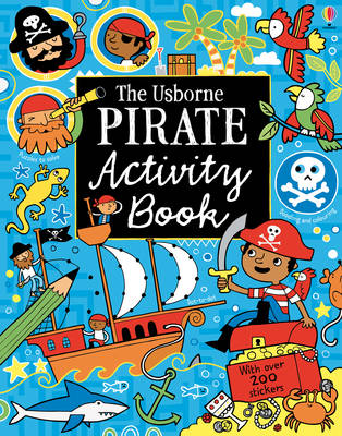 Pirate Activity Book by