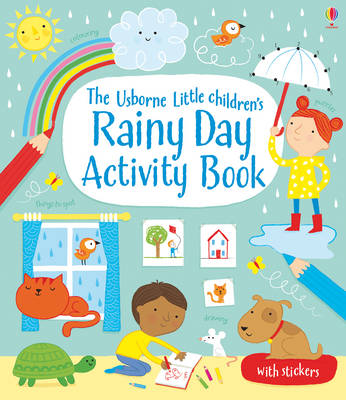 Little Children's Rainy Day Activity Book by Rebecca Gilpin