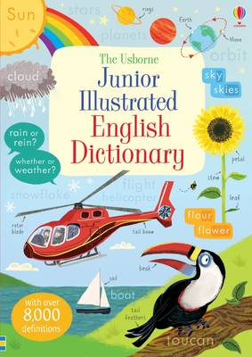 Junior Illustrated English Dictionary by Hannah Wood, Felicity Brooks