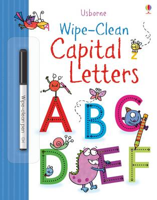 Wipe-Clean Capital Letters by Jessica Greenwell