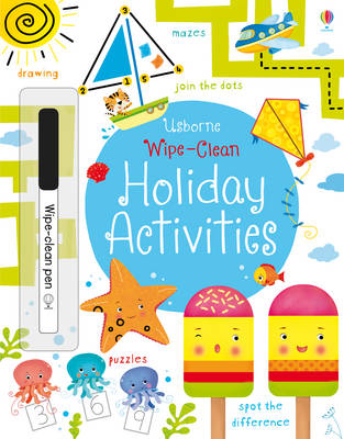 Wipe-Clean Holiday Activities by Kirsteen Robson