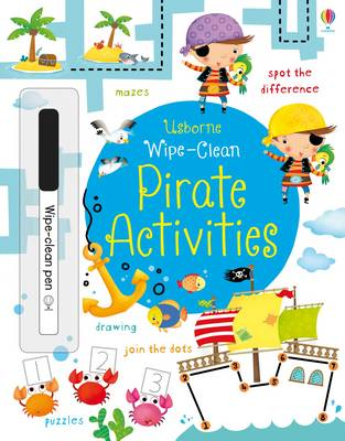 Wipe-Clean Pirate Activities by Kirsteen Robson