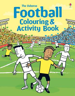 Football Colouring and Activity Book by Kirsteen Robson