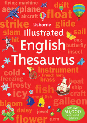 Illustrated English Thesaurus by Jane Bingham, Fiona Chandler