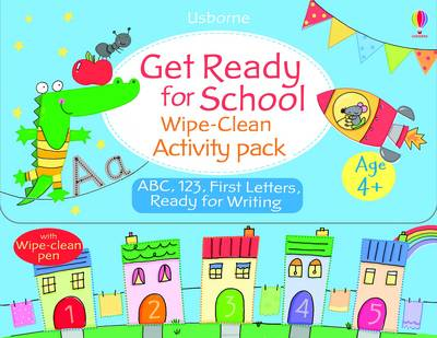 Get Ready for School Wipe-Clean Activity Pack by