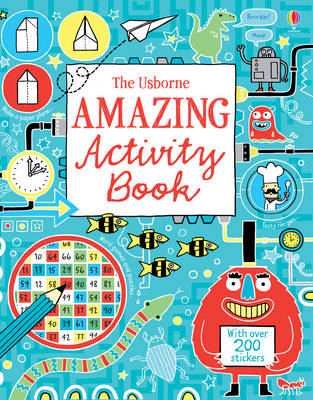 The Usborne Amazing Activity Book by