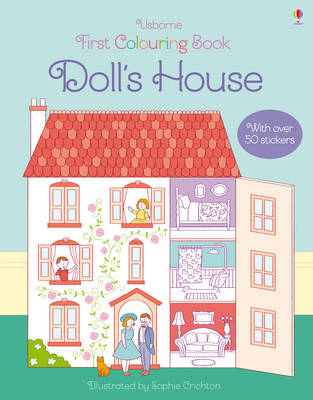 First Colouring Book Doll's House by Abigail Wheatley